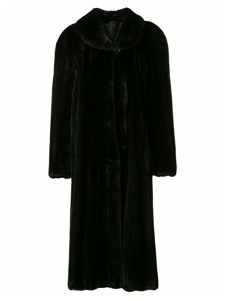 Liska Klas long coat - Brown