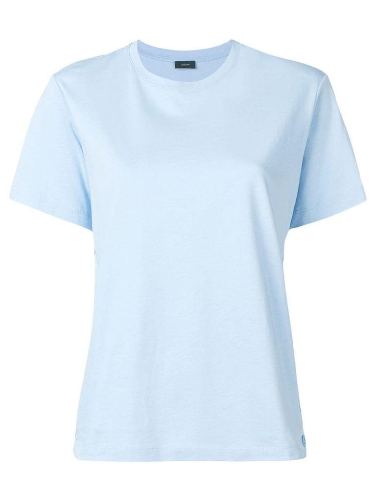 Joseph side buttons T-shirt - Blue