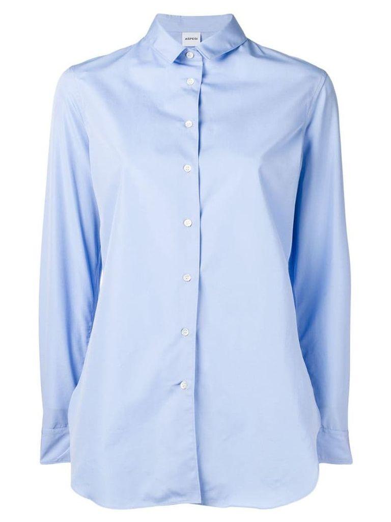 Aspesi long sleeve shirt - Blue
