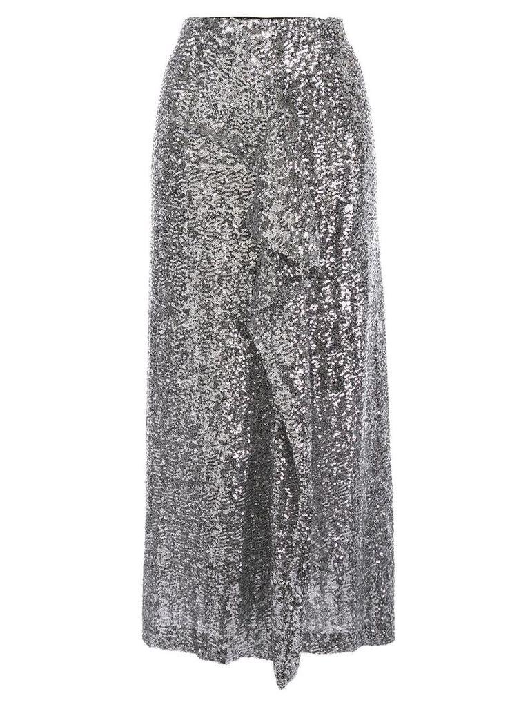 Roland Mouret Lowit sequin pencil skirt - Silver