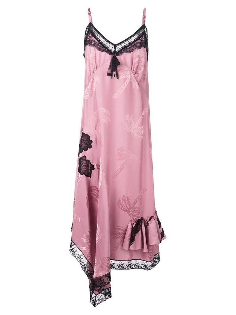 Coach lace day dress - Purple