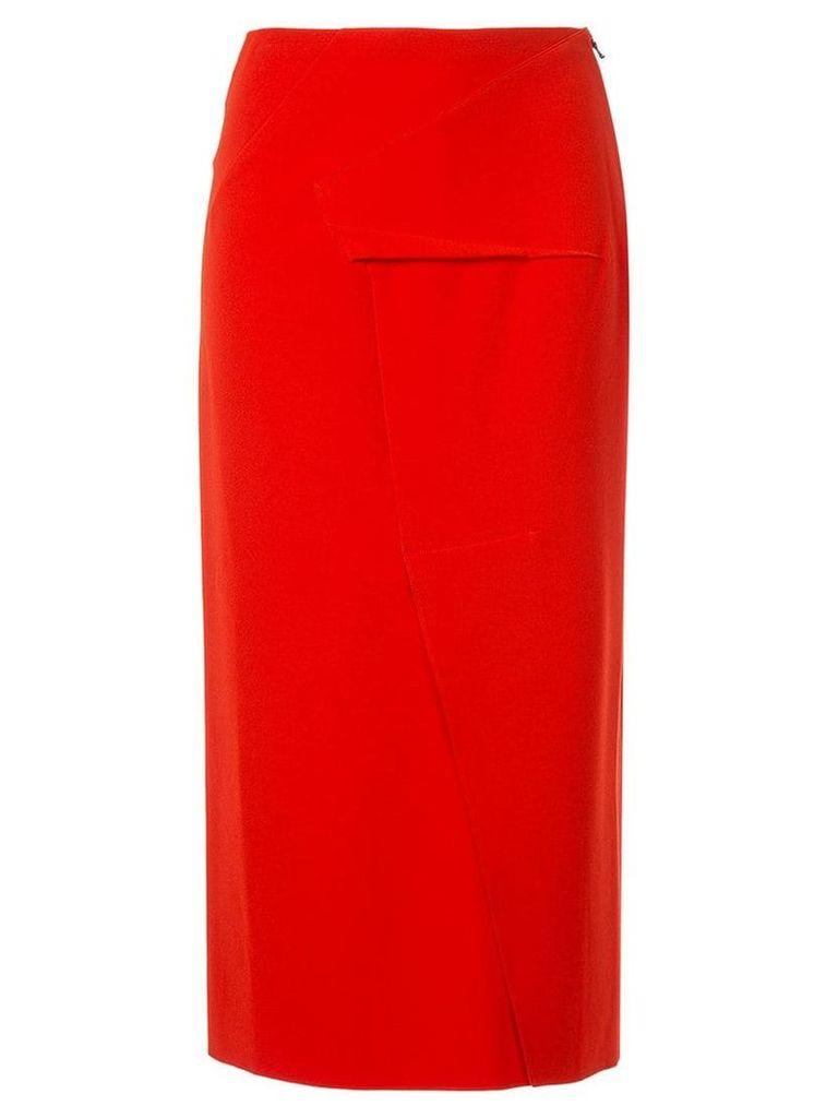 Roland Mouret Abrams pencil skirt - Red
