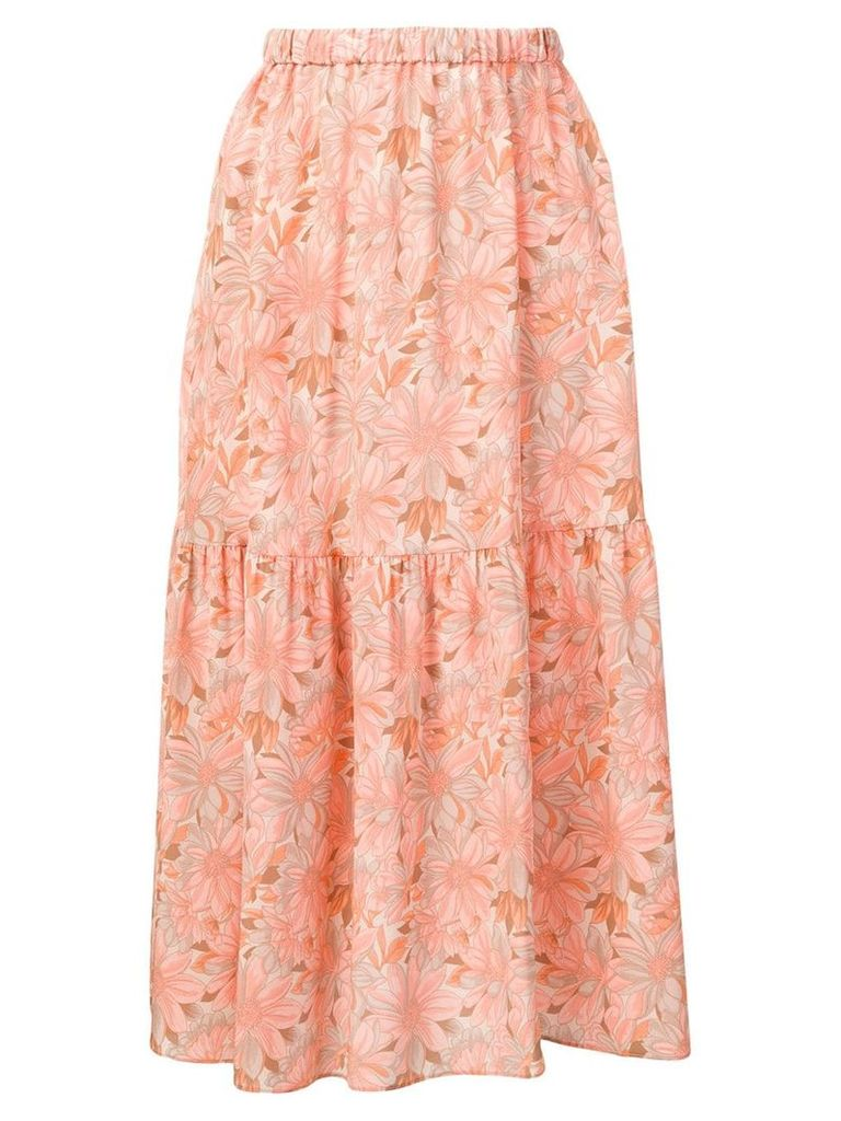 Stella McCartney floral print skirt - Neutrals