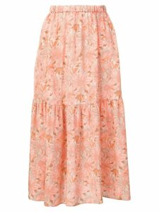 Stella McCartney floral print skirt - Neutrals