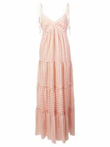 Lemlem Nefasi tiered maxi dress - Pink