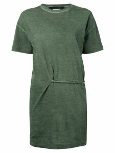 Dsquared2 lace-up detailed T-shirt - Green