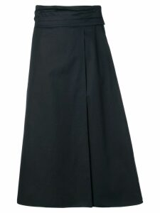 Jil Sander Navy A-line skirt - Blue