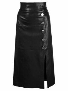 Skiim Lucy leather skirt - Black