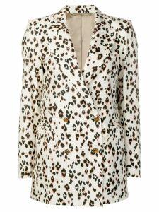 Blazé Milano animal print blazer - Neutrals