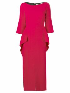 Roland Mouret Crane dress - Red