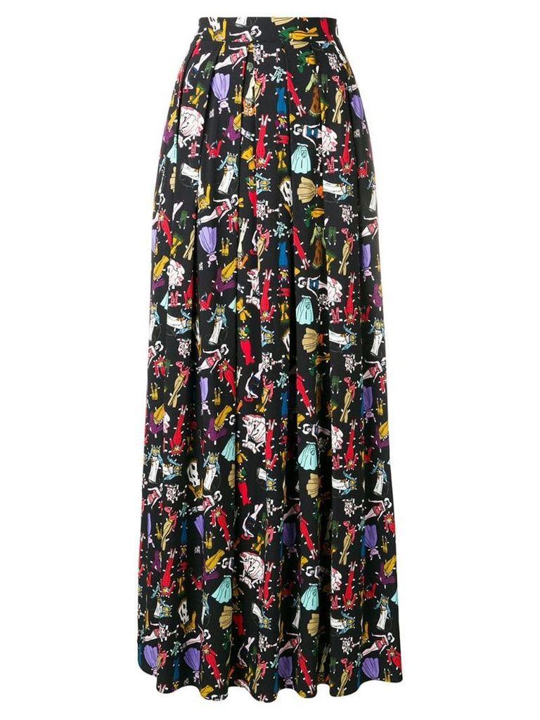 Ultràchic pleated skirt - Black