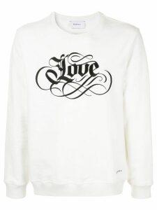 Ports V embroidered sweatshirt - White