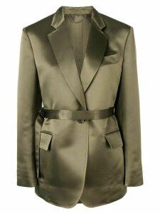Salvatore Ferragamo classic blazer - Green