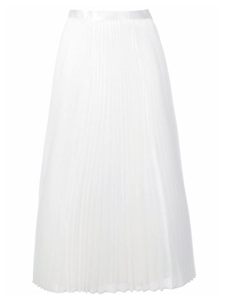 Junya Watanabe pleated skirt - White