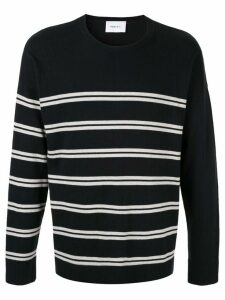 Ports V striped sweater - Blue