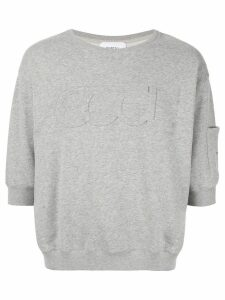 Ports V embroidered sweater - Grey