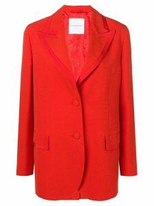 Ermanno Scervino peaked lapel blazer - Red