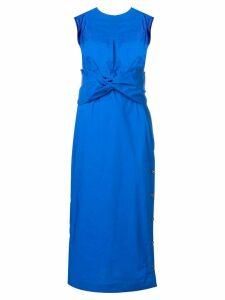 Eudon Choi tie knot dress - Blue
