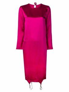 Marques'Almeida fuchsia shift dress - Pink