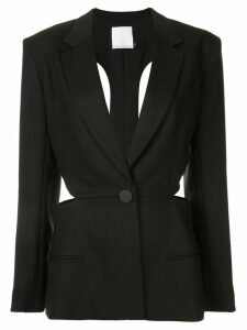 Christopher Esber Loophole tie back blazer - Black
