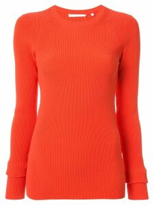 Helmut Lang long sleeve crew-neck sweater - Red