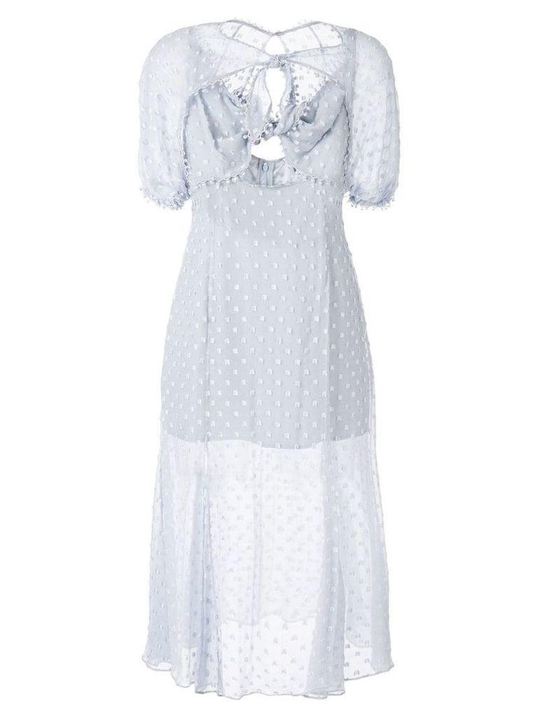 Alice Mccall Moon Talking midi dress - Blue