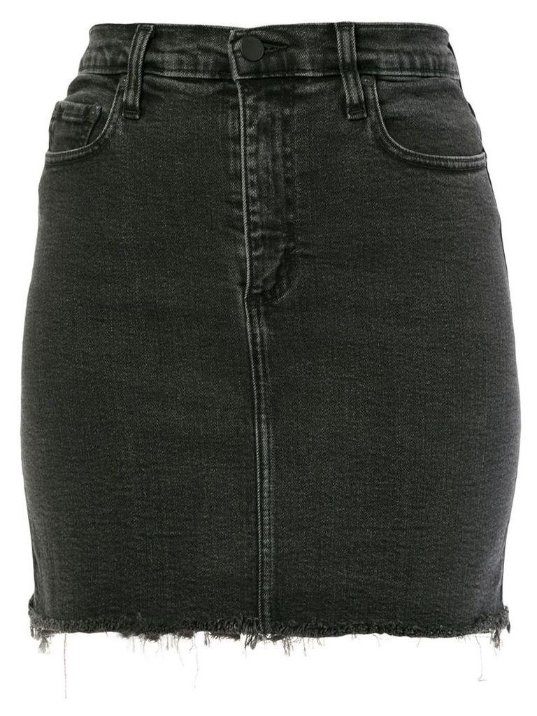 Nobody Denim Siren Skirt Comfort denim skirt - Black