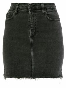 Nobody Denim Siren Skirt Comfort denim skirt - Black