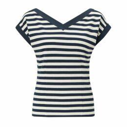 Jigsaw Bardot Stripe Top