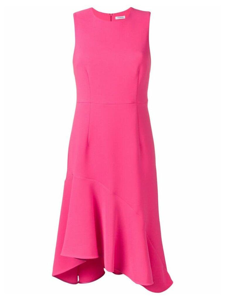 P.A.R.O.S.H. flared sleeveless dress - Pink