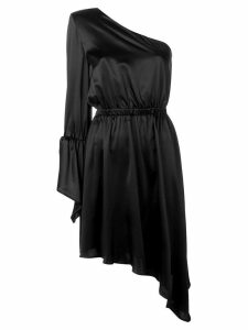 Federica Tosi one shoulder cocktail dress - Black