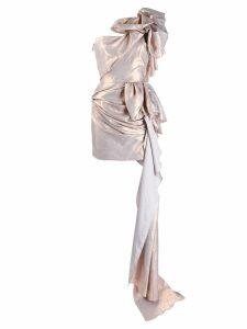Maticevski metallic rose dress - Pink