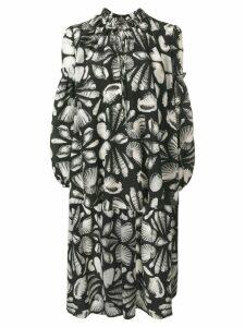 Alexander McQueen Cabinet of shells blouse - Black