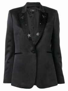 Amiri black star blazer