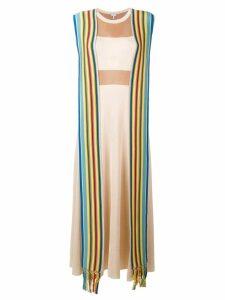 Loewe stripe bands knit dress - Neutrals