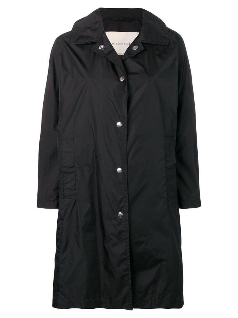 Mackintosh Black Nylon Single Breasted Coat LM-079ST/P