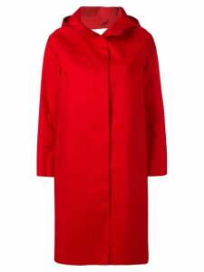 Mackintosh Berry Red Bonded Cotton Hooded Coat LR-021