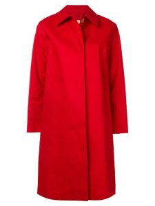 Mackintosh Berry Red Bonded Cotton Coat LR-020