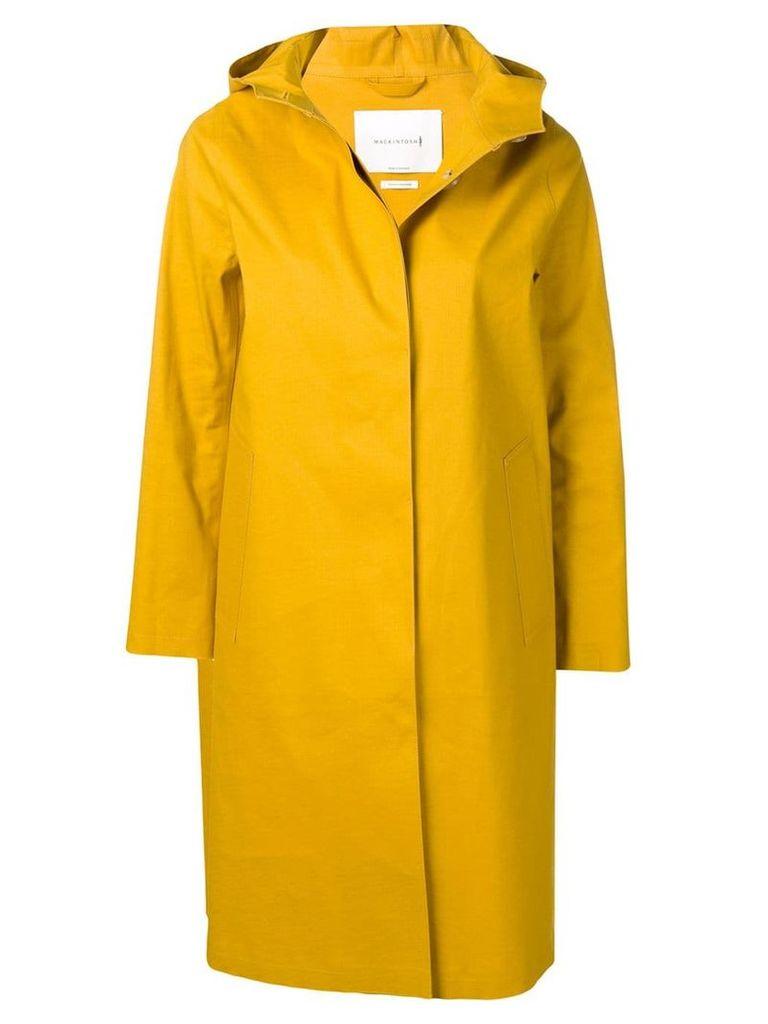 Mackintosh Arrowwood Bonded Cotton Hooded Coat LR-021 - Yellow