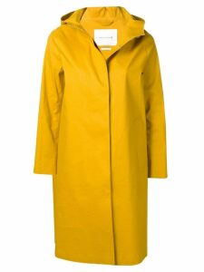 Mackintosh Arrowwood Bonded Cotton Hooded Coat LR-021 - Yellow