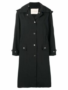Mackintosh Black Hooded Coat LM-098ST