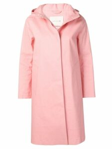 Mackintosh Pink Bonded Cotton Hooded Coat LR-021