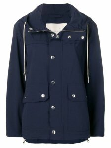Mackintosh Ink Field Parka GM-117B/W - Blue