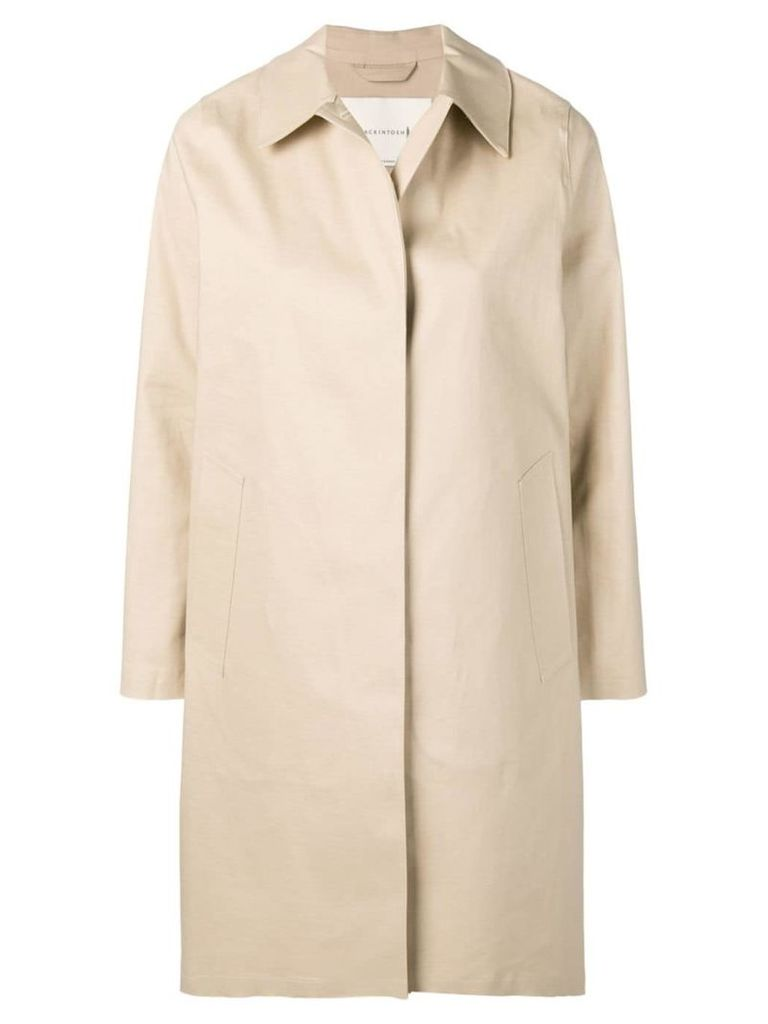 Mackintosh Putty Bonded Cotton Coat LR-020 - Idj01 Putty
