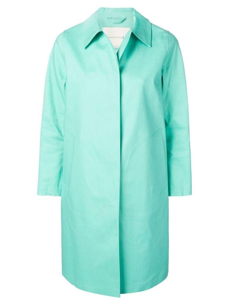 Mackintosh Cascade Bonded Cotton Coat LR-020 - Blue