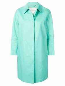 Mackintosh Cascade Bonded Cotton Coat LR-020 - Blue