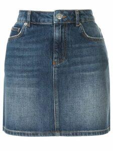 GANNI Camfield denim skirt - Blue