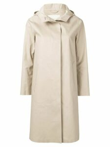 Mackintosh Putty Bonded Cotton Hooded Coat LR-021 - NEUTRALS