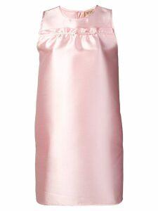 Nº21 sleeveless shift dress - Pink