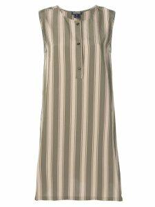 Woolrich Scully Striped short dress - Green